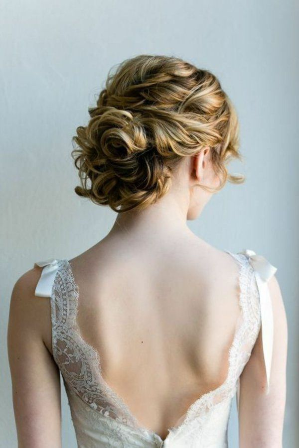 50 idées pour votre coiffure mariage cheveux milongs