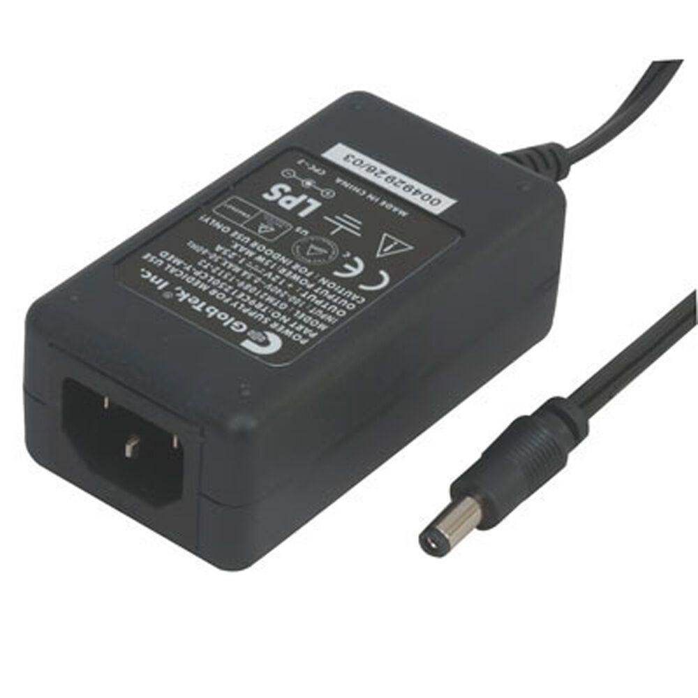 New Globtek Tr9ce1250lcp Y Med R Power Supply Medical 12vdc 1 25a 15 Watt 12vdc 1 25a Ac Adapter Power Supply Adapter Power