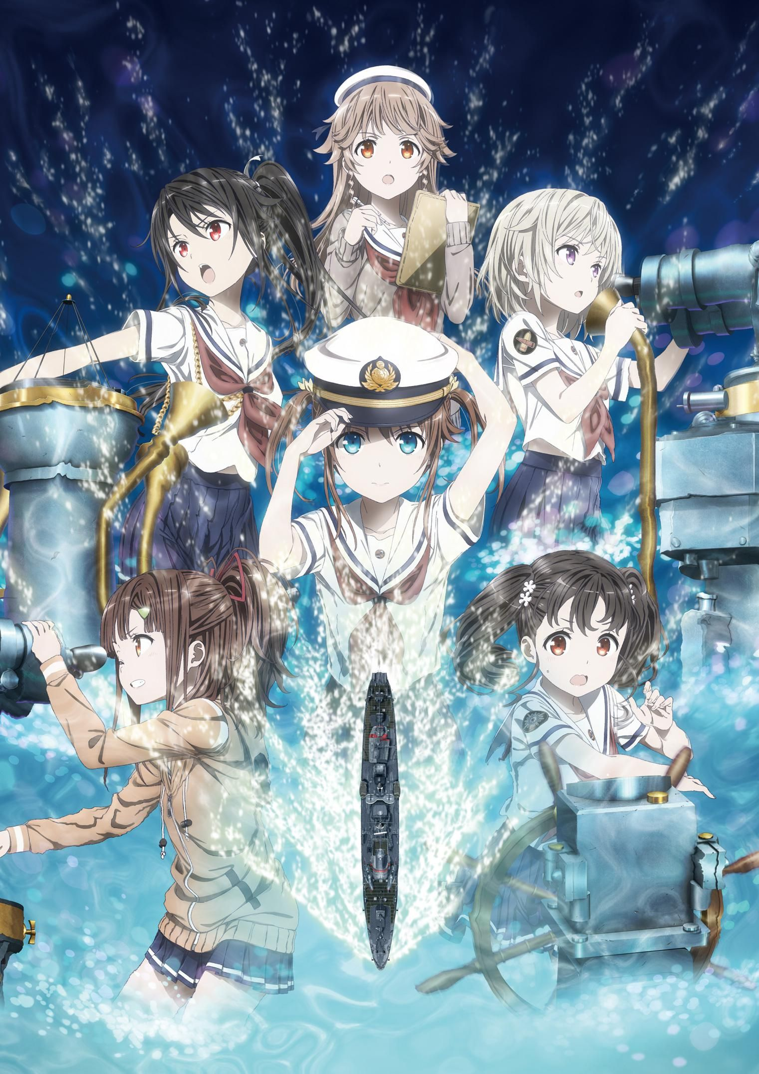 High School Fleet Movie en 2020 Anime kawaii, Chica