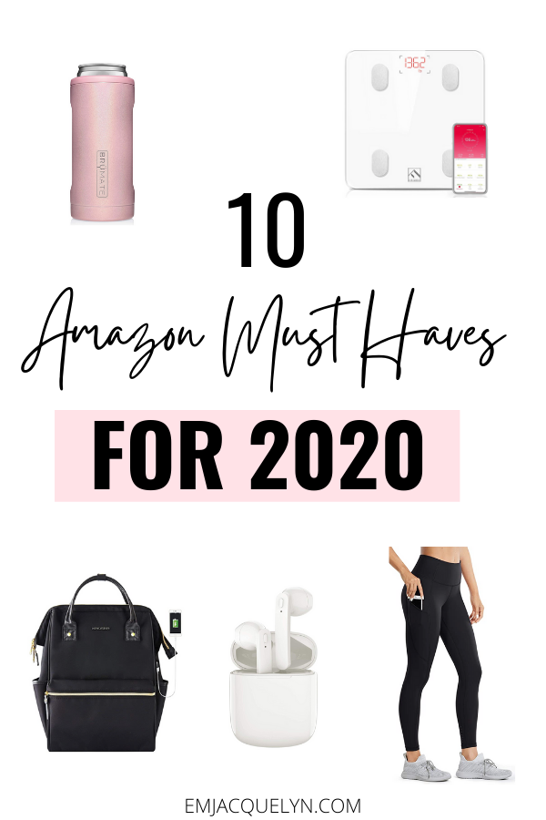 10 Amazon Must Haves 2020 Emjacquelyn In 2020 Amazon Amazon Beauty Products Must Haves