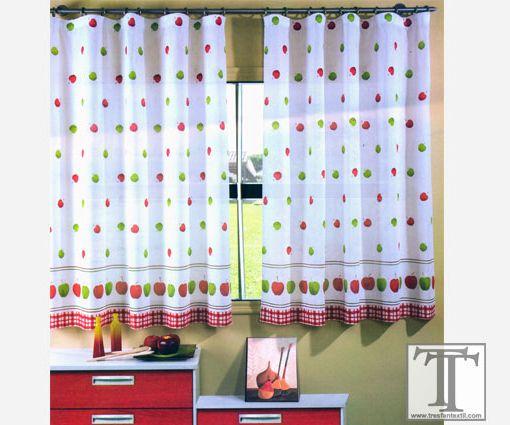 Modelos de cortinas de cocina   Corti   Pinterest