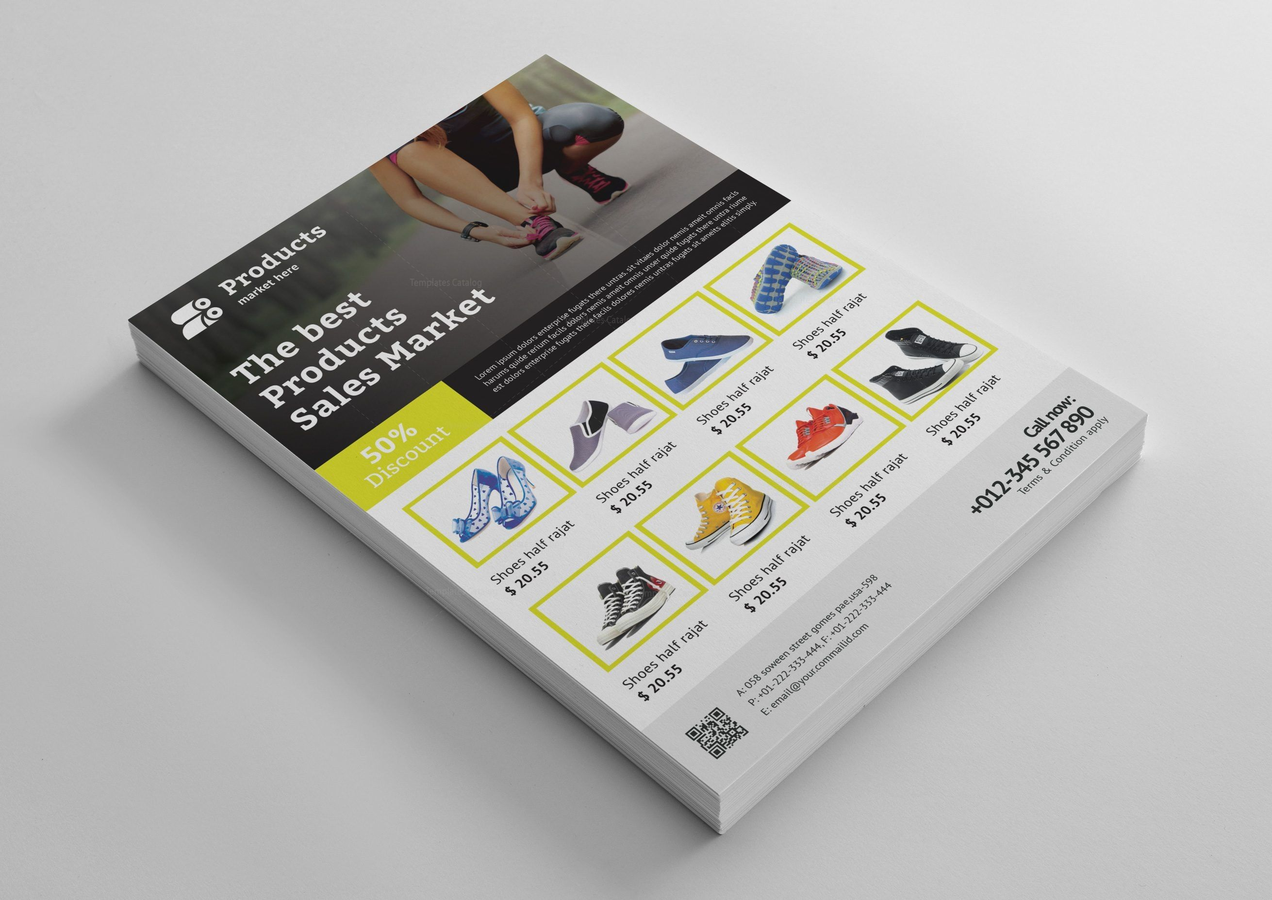 Modern Products Flyer Design Template Graphic Templates Flyer Design Flyer Design Templates Flyer