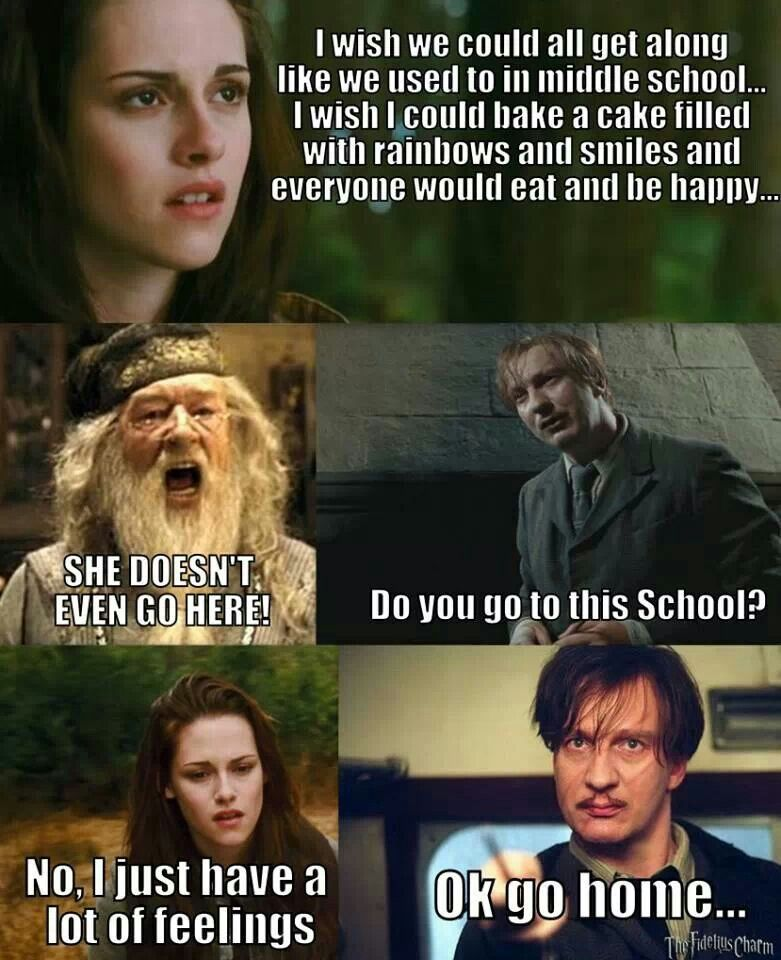 Pin By Kaitlyn Brown On Hobbies Harry Potter Memes Hilarious Harry Potter Twilight Harry Potter Vs Twilight