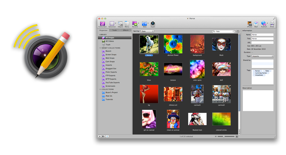 Say goodbye to lengthy explanations! With Voila Mac Screen