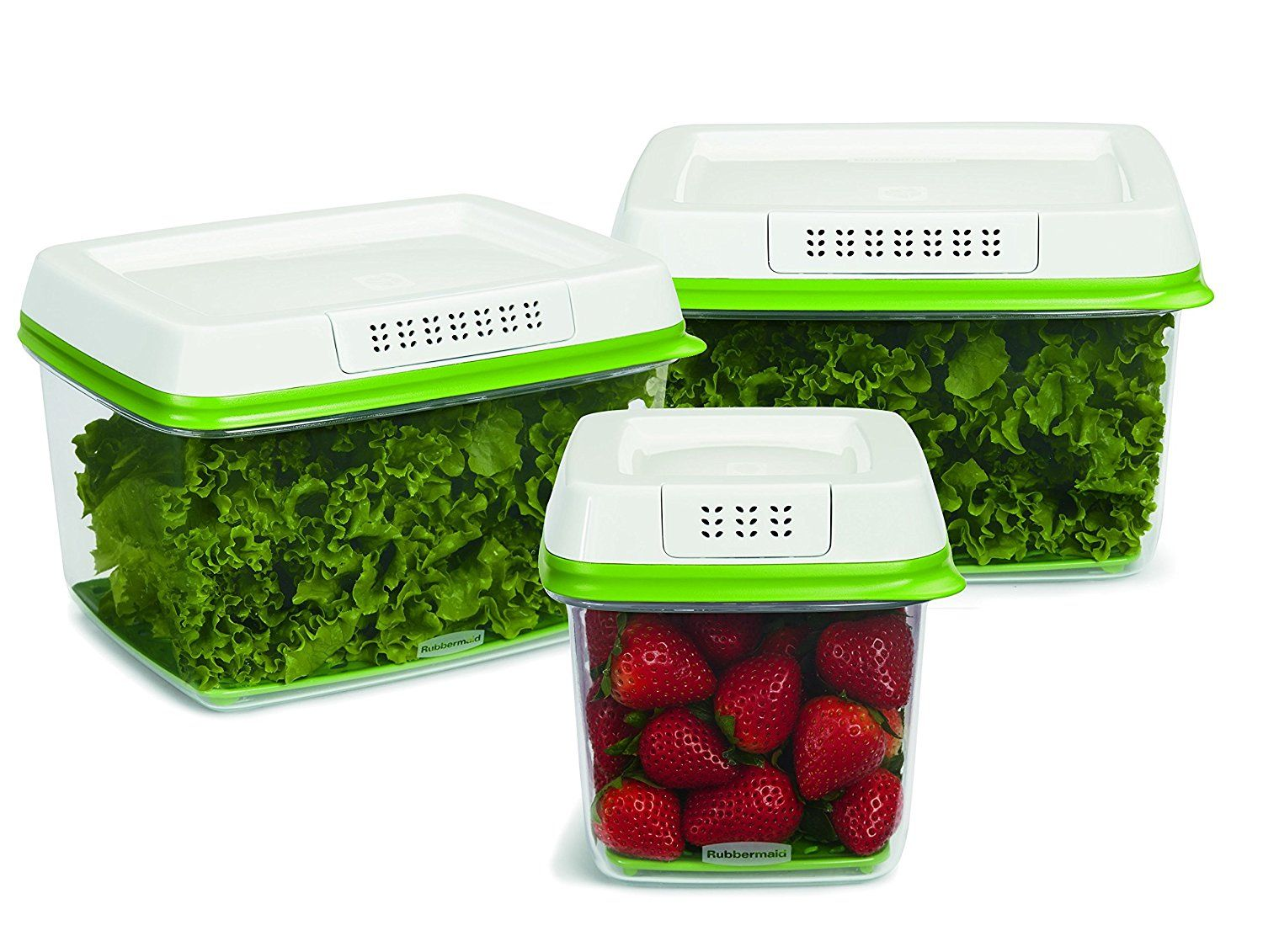 Rubbermaid Freshworks Produce Saver Food Storage Containers 1