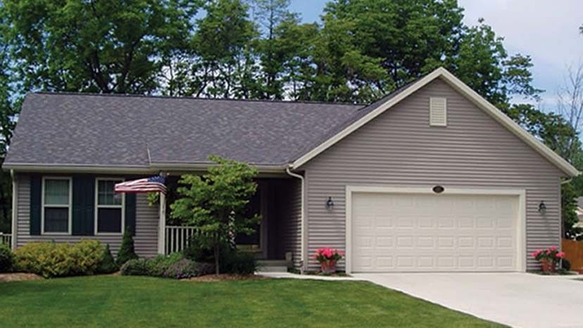 Home plan homepw06213 1333 square foot 3 bedroom 2 for Www homeplans com