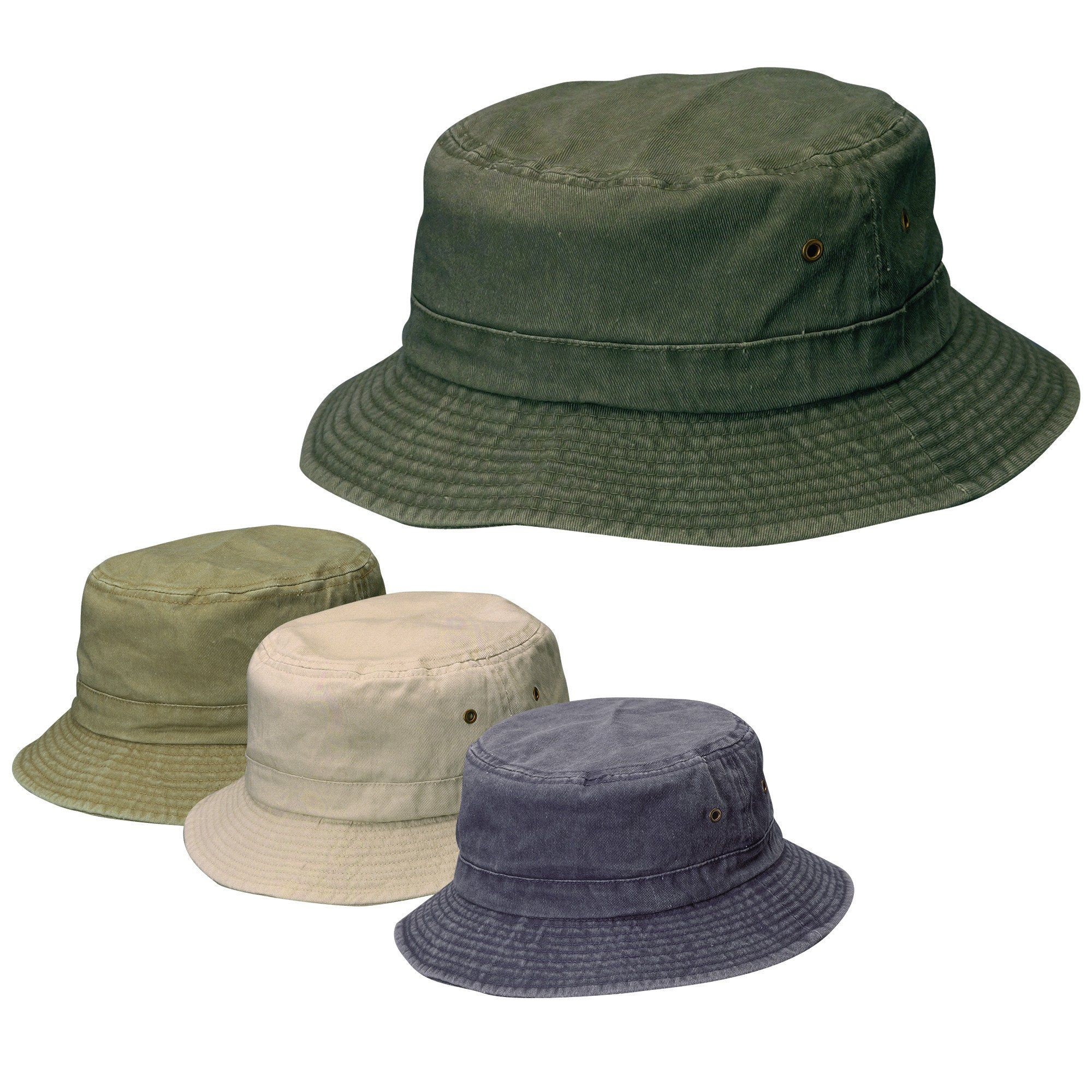 Traditional cotton bucket hat - fishing hat. 2