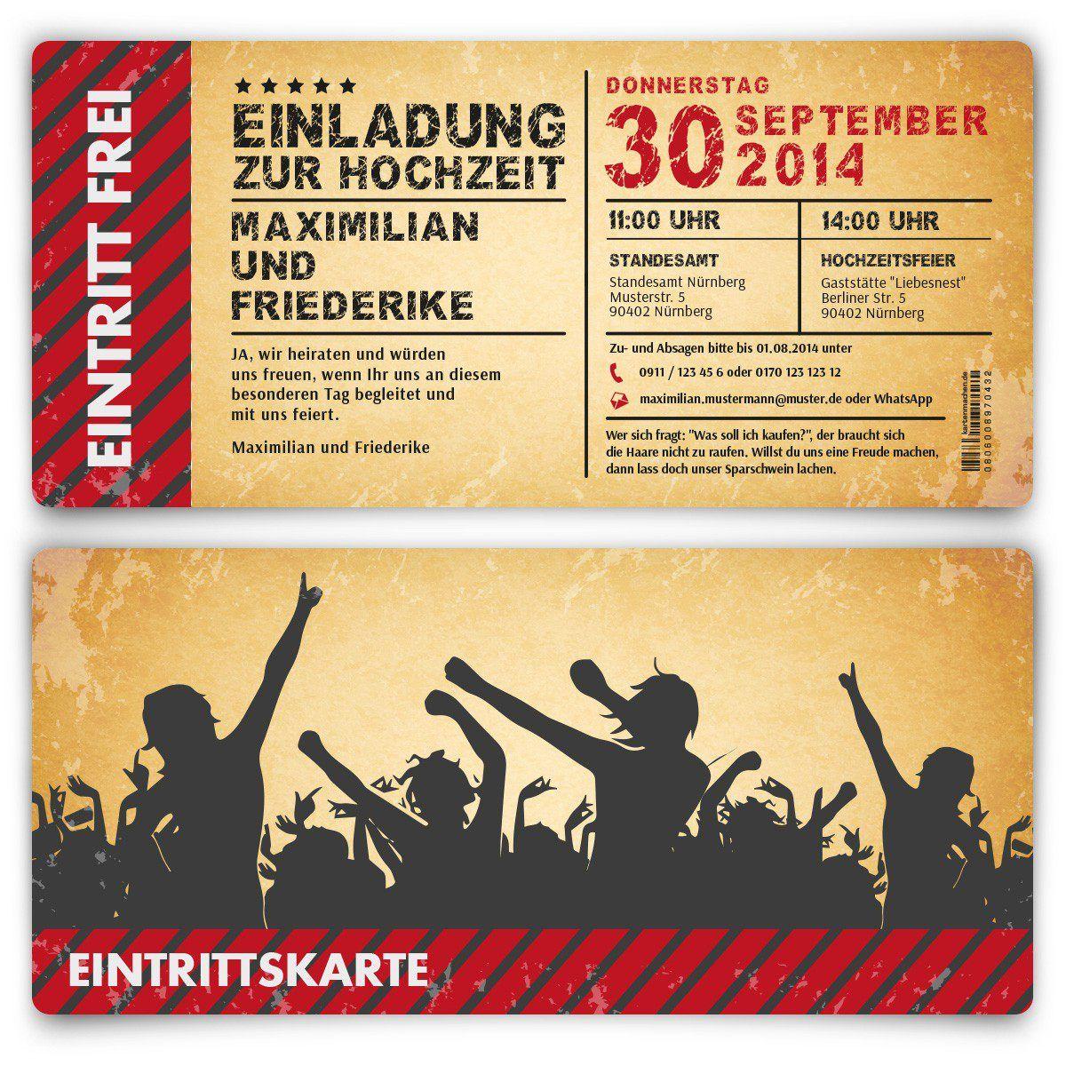 hochzeitskarten-kostenlos-zum-ausdrucken | einladung zum, Einladung