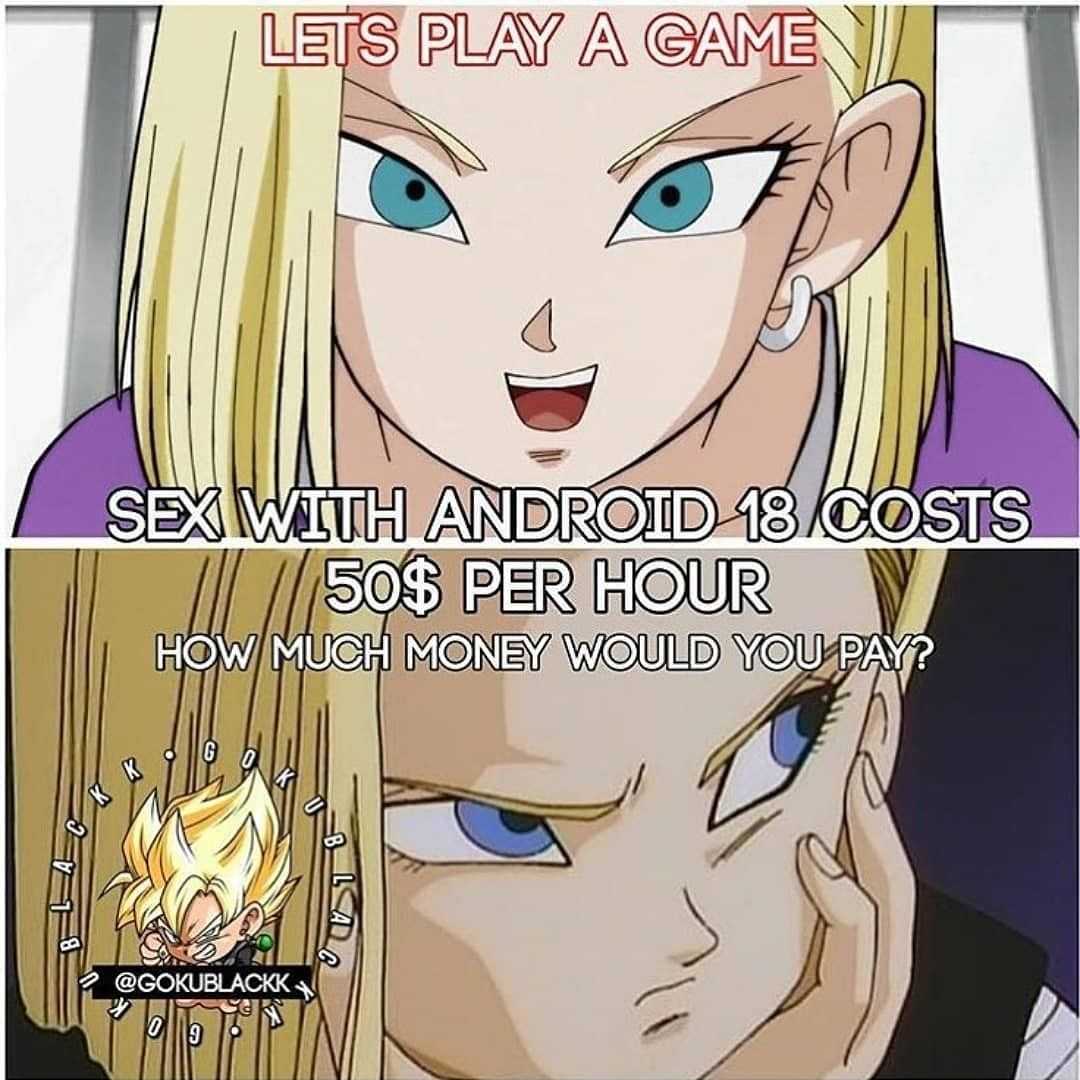 Android 18 Having Sex follow us for more unique db fan tshirt and hoodies link