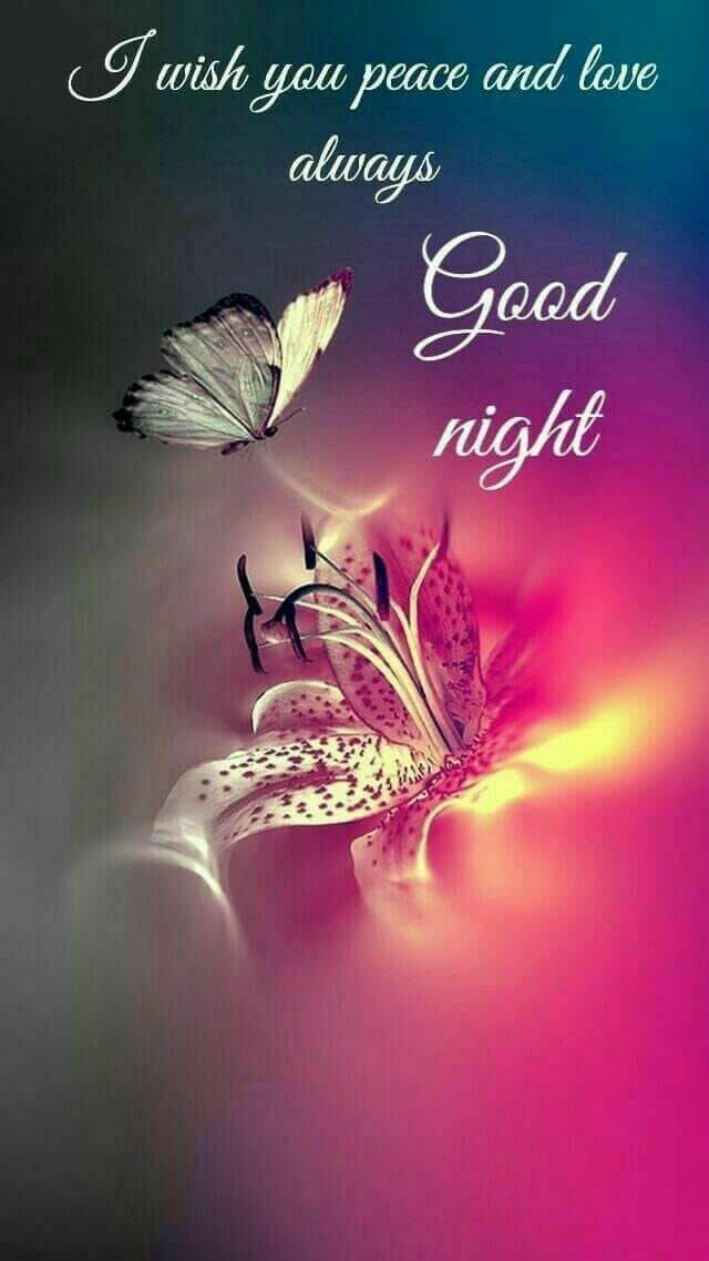May God bless you always blessings Good night image