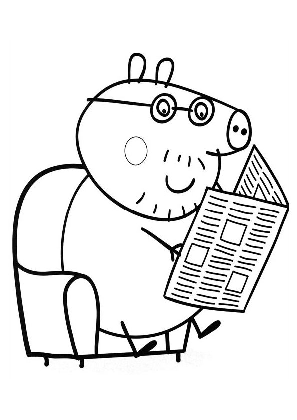 coloriage de peppapig Birthday Pinterest Peppa pig colouring - new free coloring pages for peppa pig