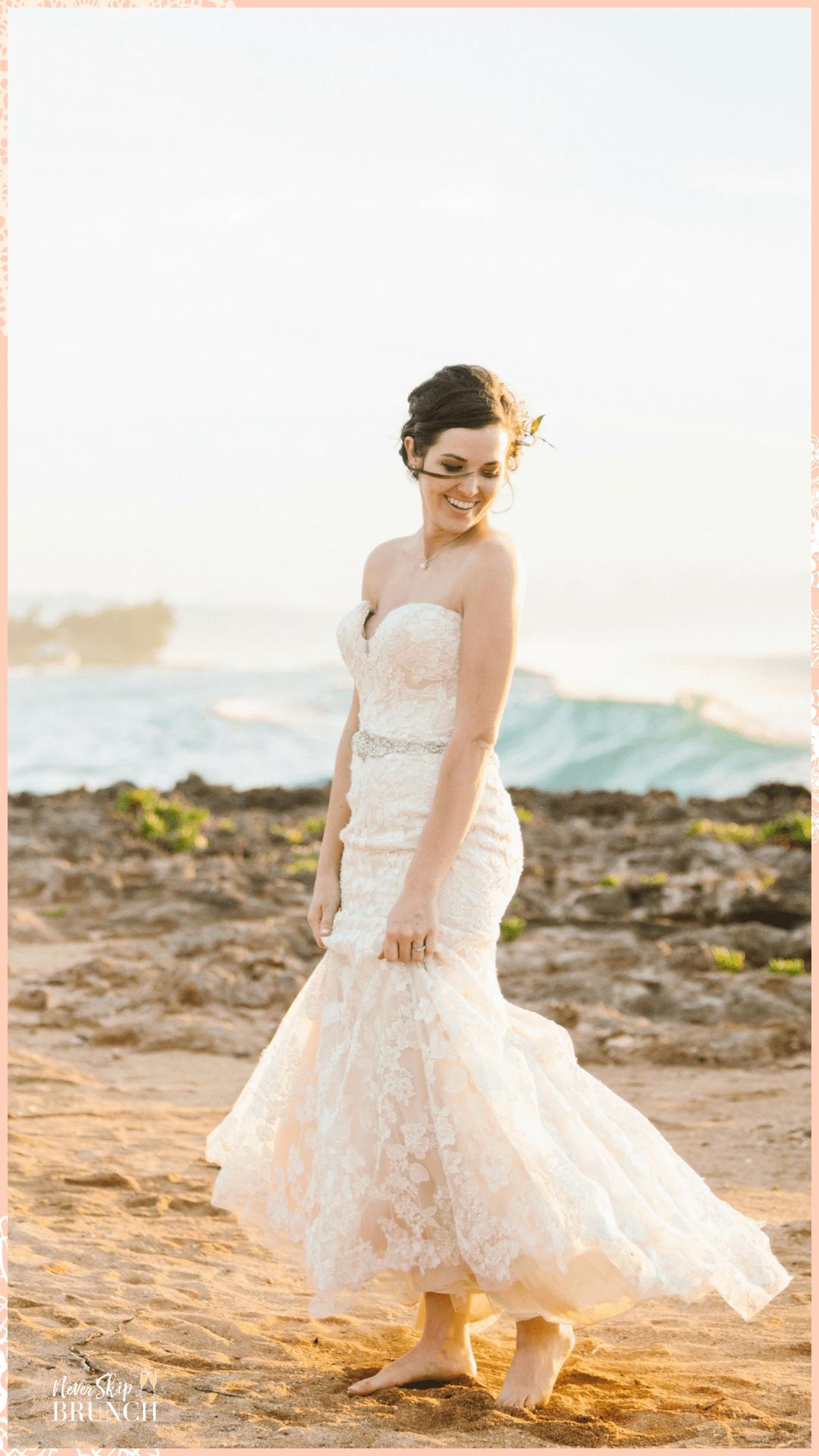My hawaii wedding part the attire never skip brunch posts