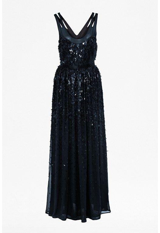 Shimmer Shower Maxi Dress