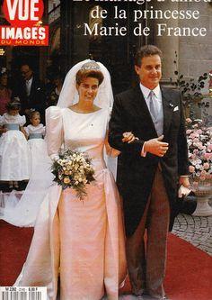 mariage de marie d 39 orl ans fille ain e d 39 henri le jour de son mariage avec le prince gundakar de. Black Bedroom Furniture Sets. Home Design Ideas