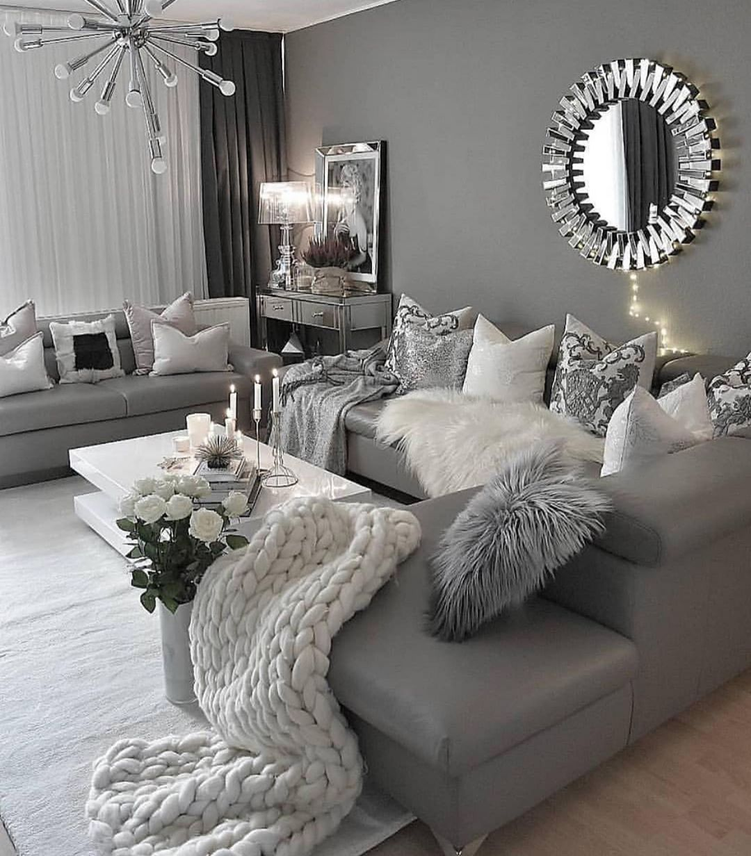 Fashion Makeup Beauty On Instagram Lovely Details Agree Credit Dm Cosy Living Room Cosy Living Room Decor Living Room Decor Grey Couch