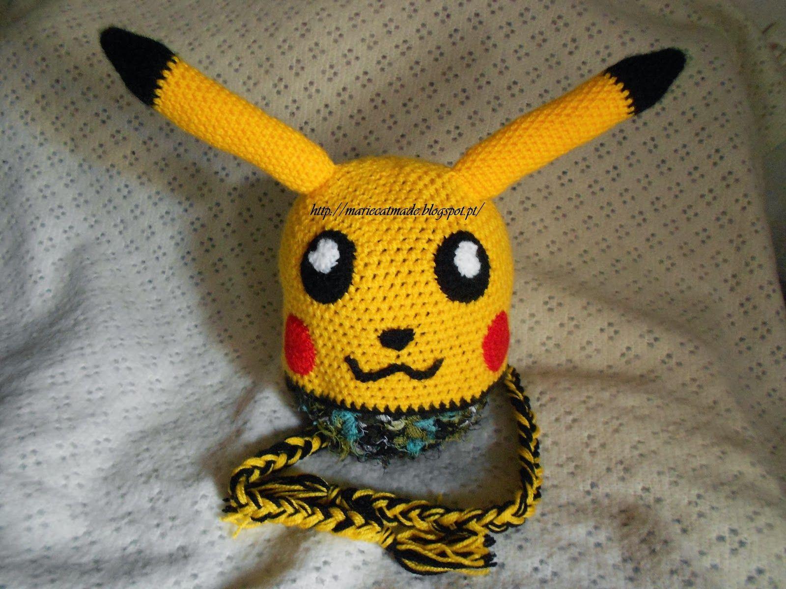 MarieCatmade: Gorro Pikachu