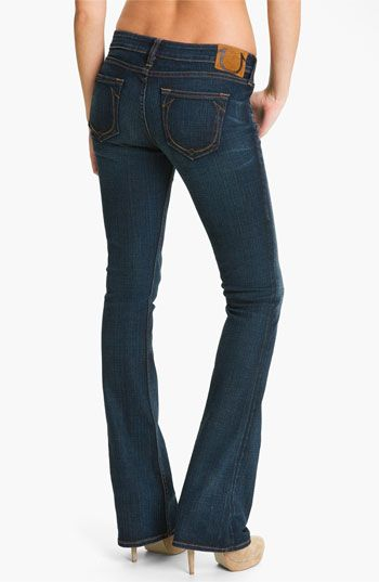 True Religion Brand Jeans 'Bobby' Boot Cut Jeans (Del Mar Medium) available at #Nordstrom