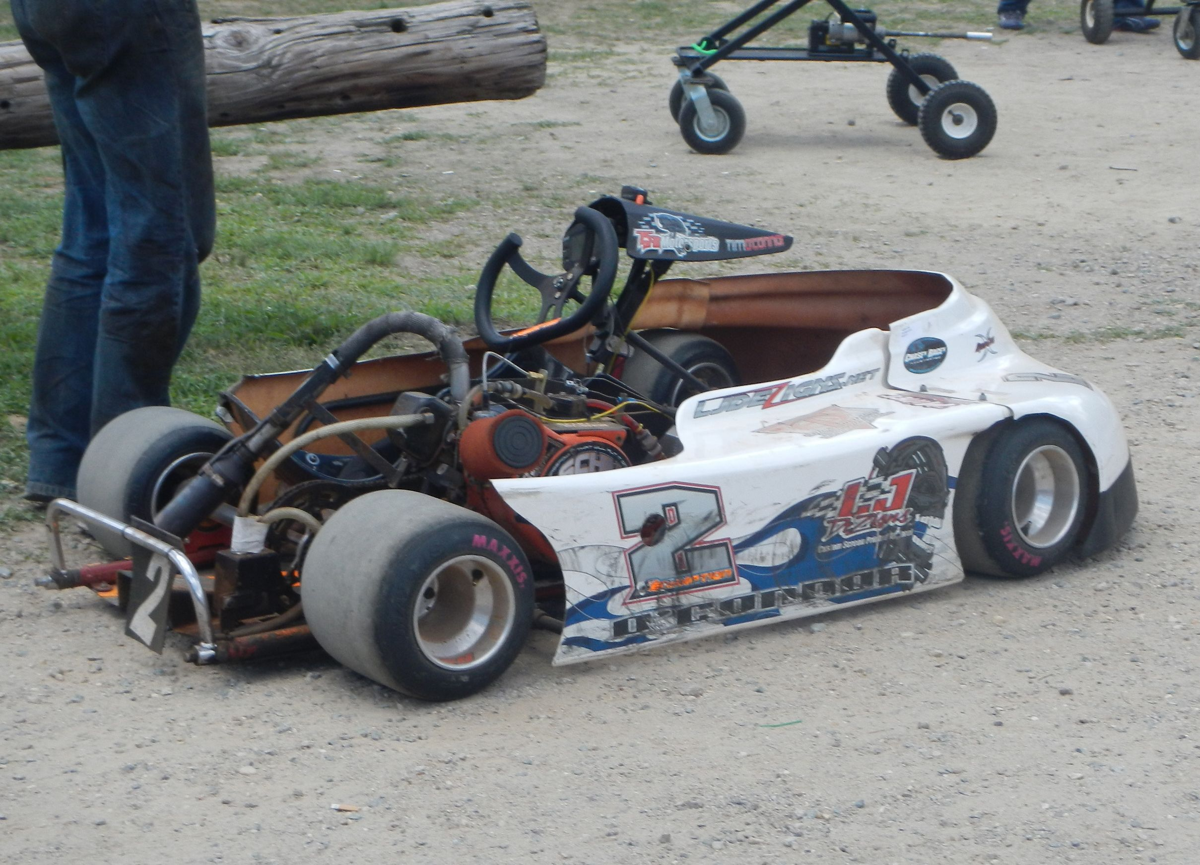 2 dirt track racing kart | Oval Dirt Track Racers | Pinterest ...
