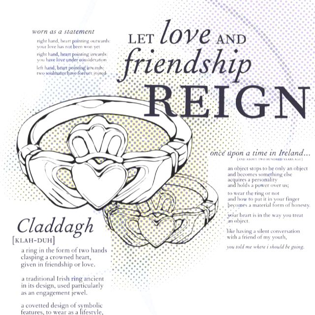 Meaning Of The Claddagh Symbol Claddagh Rings