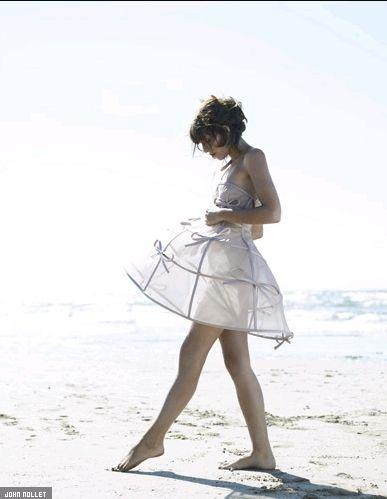 Valentino Fall 2010 HC Bow-Adorned Birdcage Dress Photograph