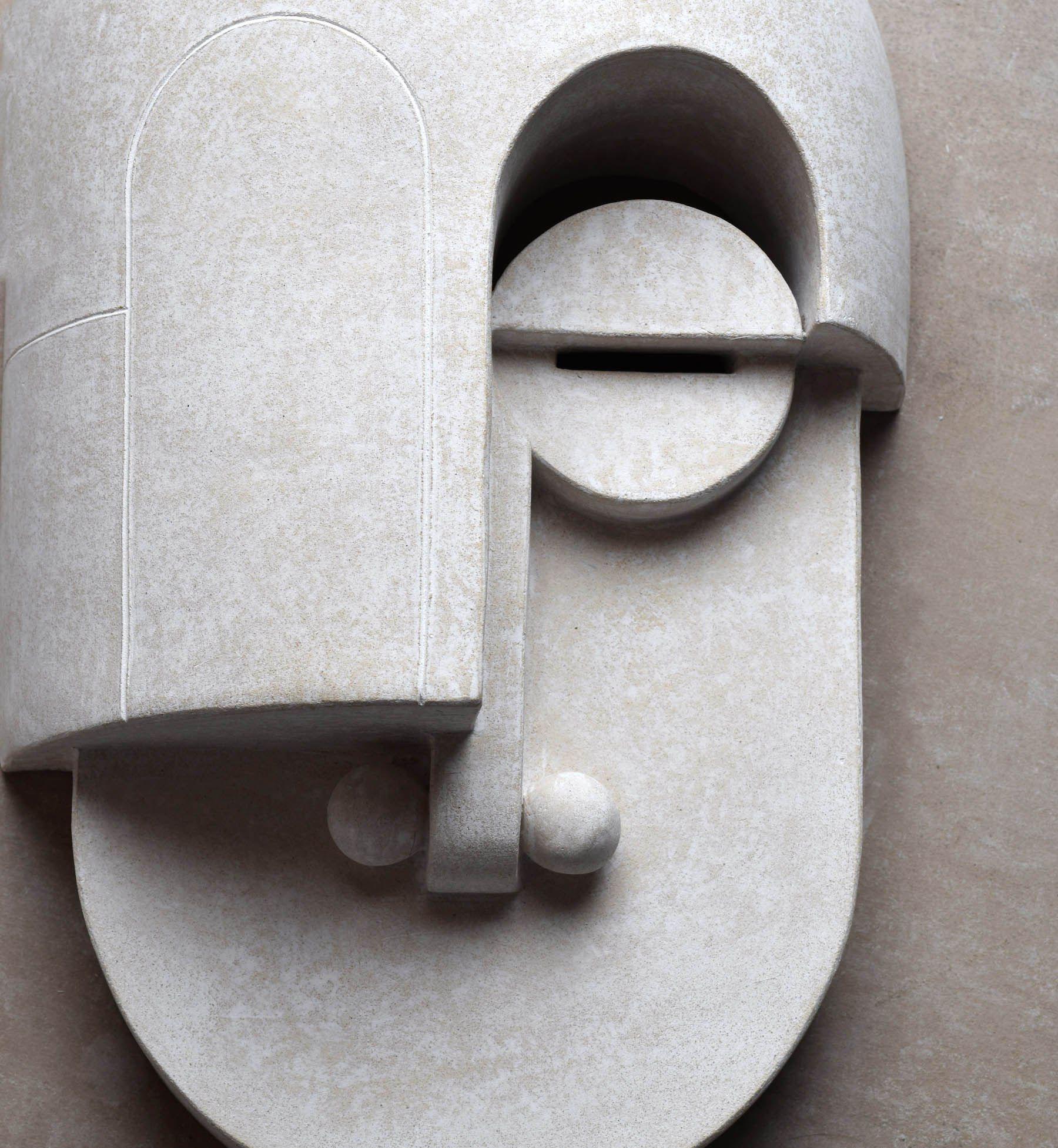 Eric roinestadus stunning bauhaus ceramics masks bauhaus and masking