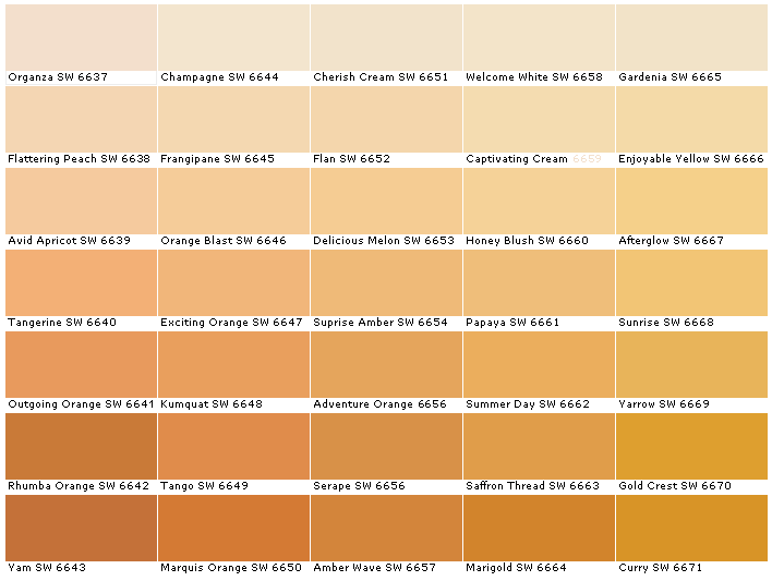 Cream Champagne Colors Paint Colors For Home Sherwin Williams
