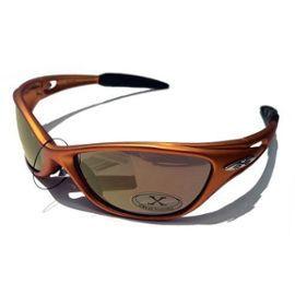 X-Loop Lunettes de Soleil - Sport - Cyclisme - Ski - Conduite / Mod. 1170 Gris Orange / Taille Unique Adulte / Protection 100% UV400 AIWeYL3