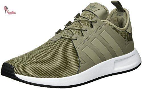 adidas x a infrarossi, scarpe da ginnastica, bassi homme, vert (tracce cargo / traccia brown