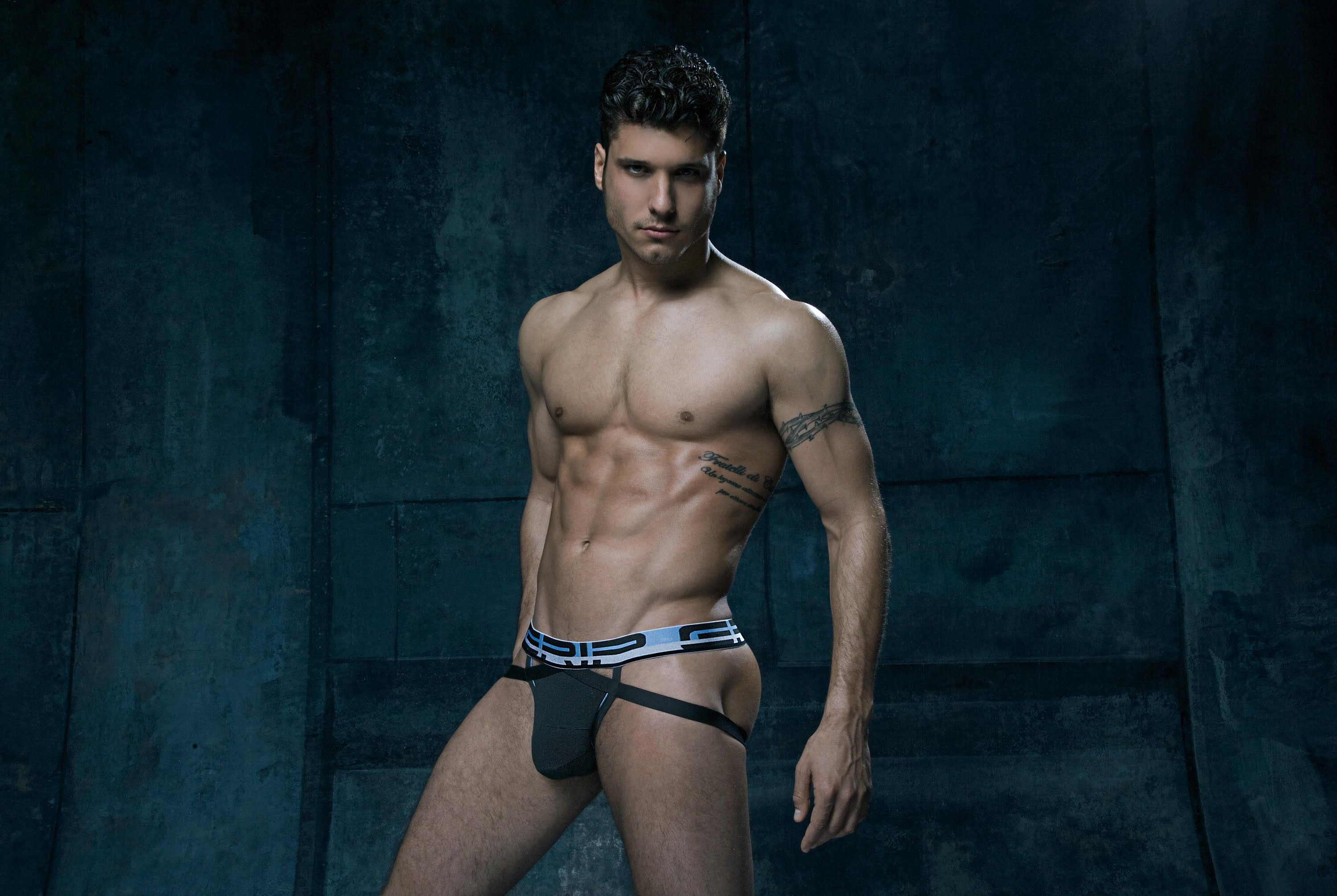 C-IN2: Cody Calafiore for Grip Athletic Mens Fashion Underwear Collection.