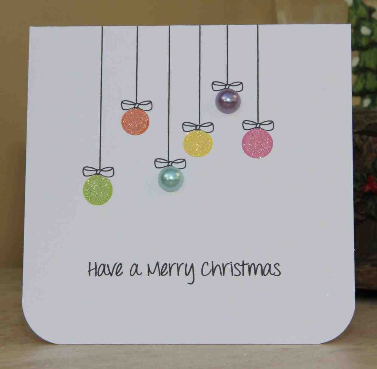 New Post christmas cards handmade to make | Decors Ideas | Pinterest ...