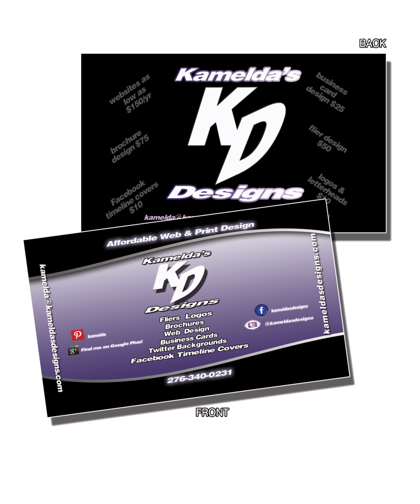 Double sided glossy business cards arts arts double sided glossy business card design pinterest colourmoves