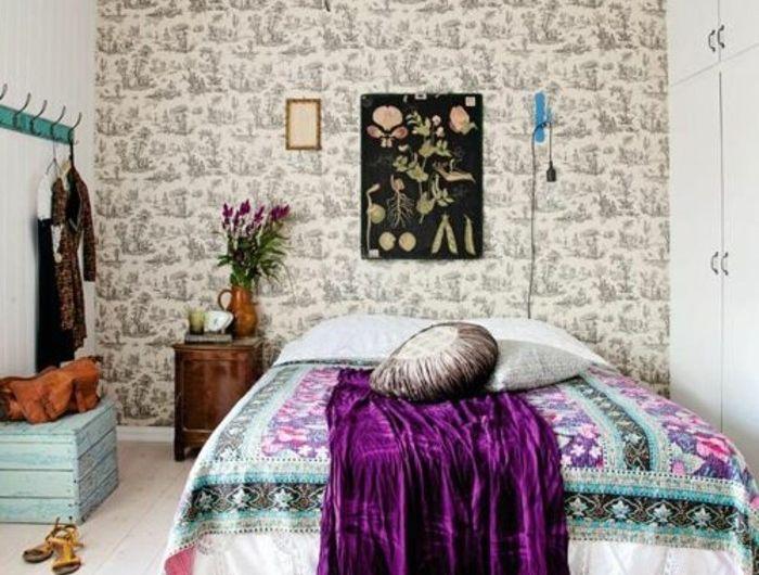 120 idées pour la chambre d\'ado unique! | Lustre baroque, Couverture ...
