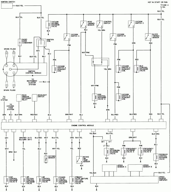 Wiring Diagram For 1992 Honda Civic | schematic and wiring ...