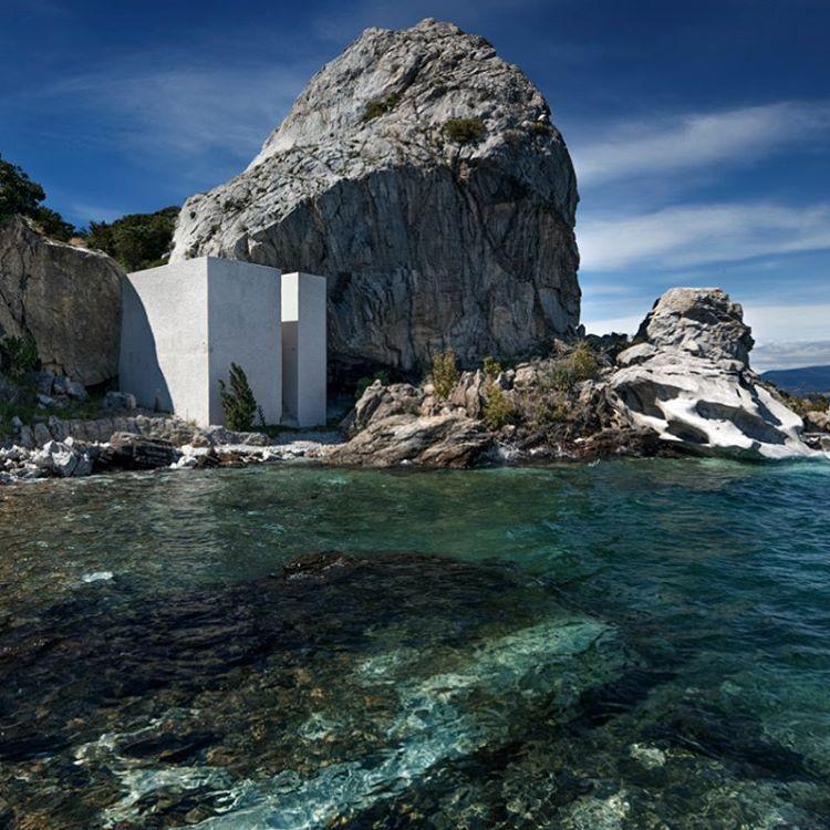 casa escultura en la Patagonia chilena por Not Vital & Cristian ...