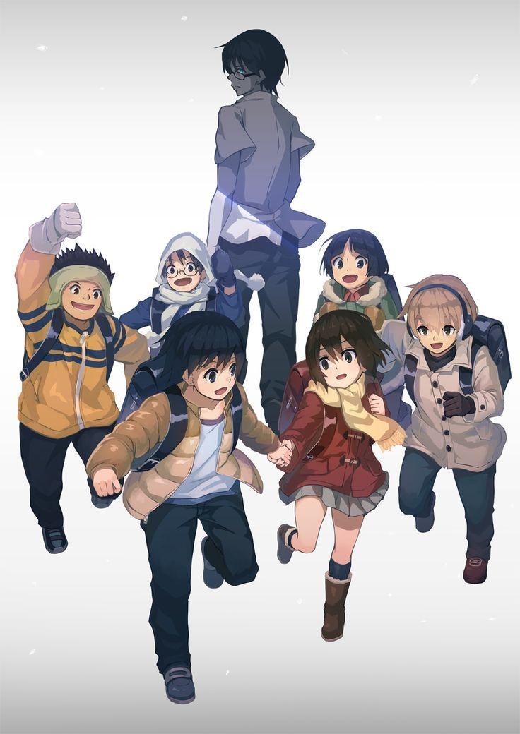 Erased Anime On Pinterest Anime Anime Characters And Kenya Anime Anime Shows Manga