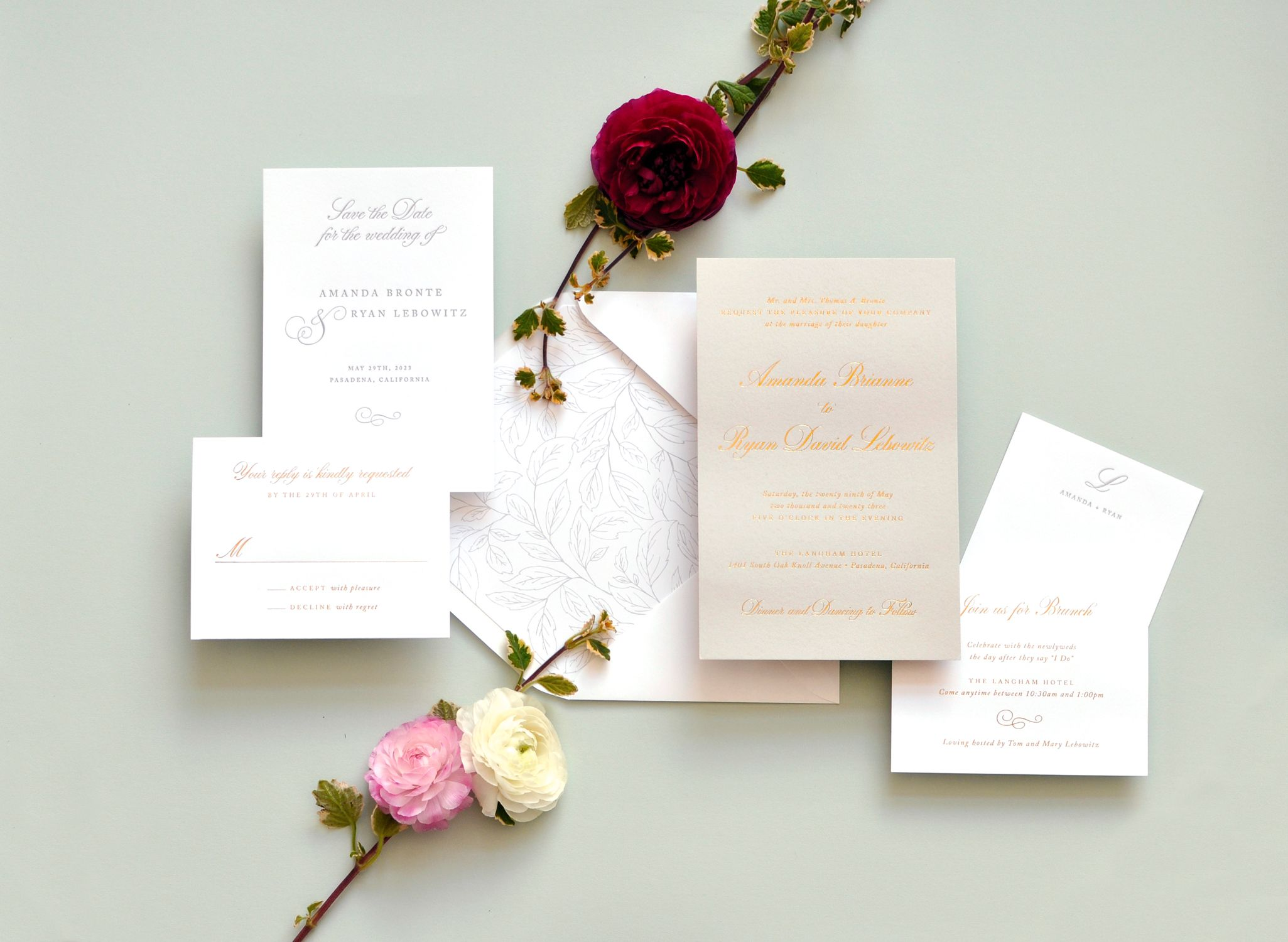 in wedding invitations is the man s name first%0A Perfectly pretty  boxed wedding invitation  www staccatostationery com    Signature Collection by Staccato   Pinterest   Butterfly invitations