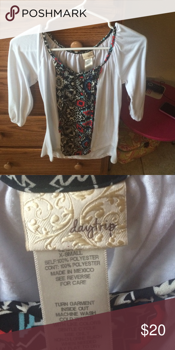 Daytrip from buckle blouse. Worn a few times. Still in good condition! Buckle Tops Blouses