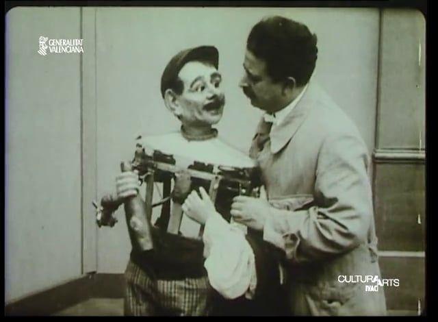 Francisco Sanz (1872-1939) – Sanz y el secreto de su arte. Maximiliano Thous y Francisco Sanz, 1918