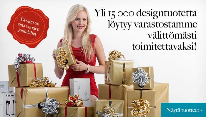 Yli 15 000 designtuotettalöytyy varastostammevälittömästi toimitettavaksi
