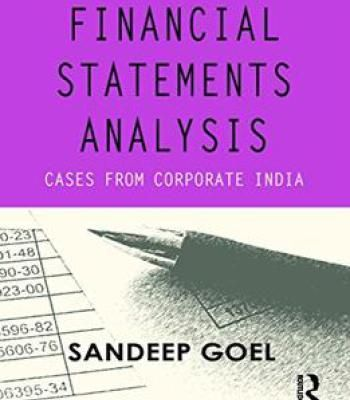 Financial Statements Analysis Cases From Corporate India Pdf