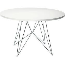 Photo of Magis Xz3 table Ø 120cm white walnut MagisMagis