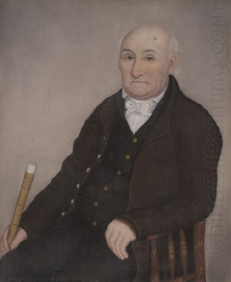 Painting of man by Ammi Phillips