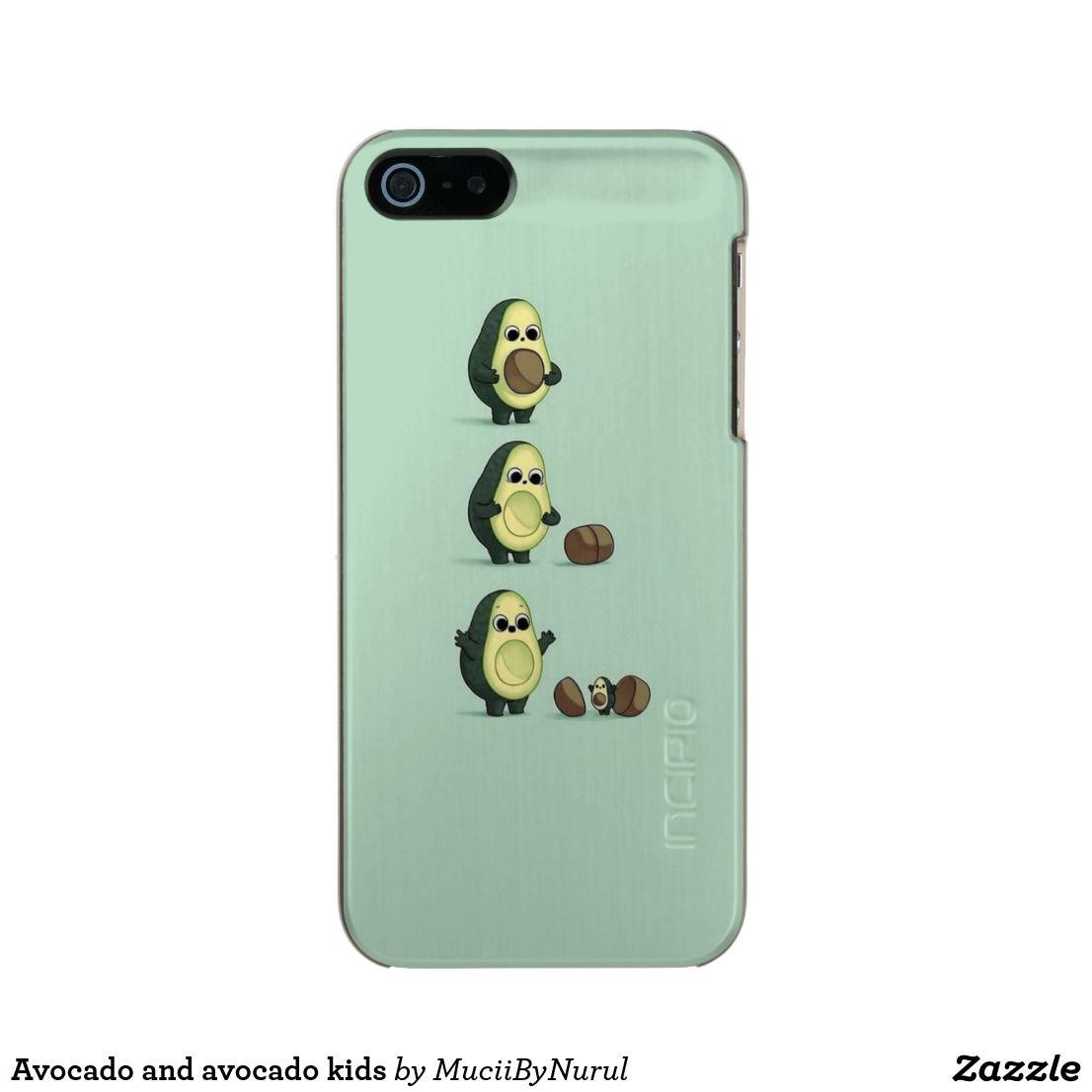 Avocado and avocado kids incipio iphone case