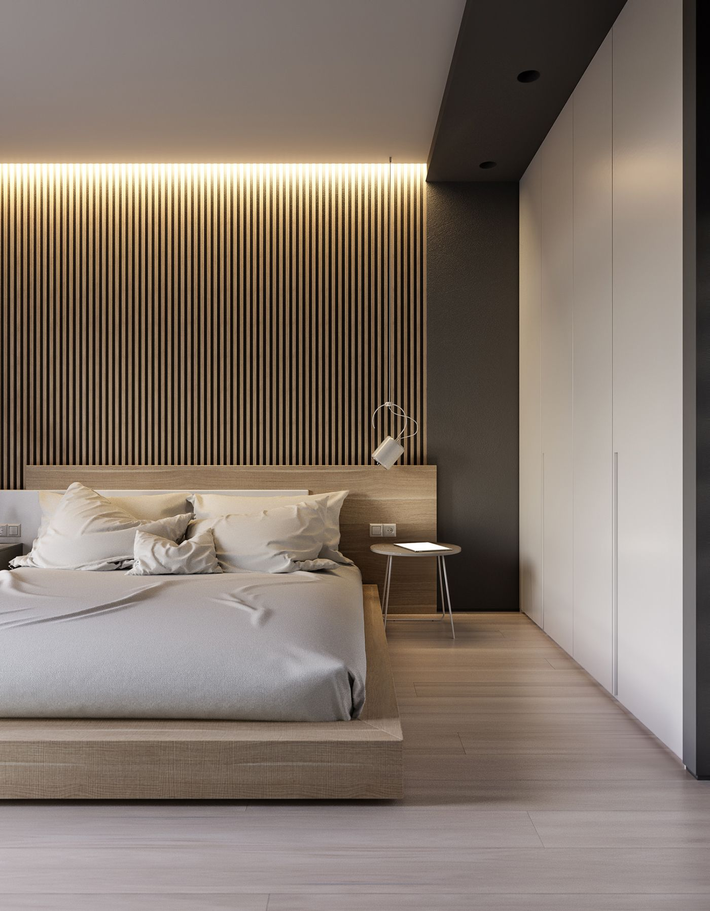 M4 Kildinov On Behance Modern Minimalist Bedroom Bedroom Design