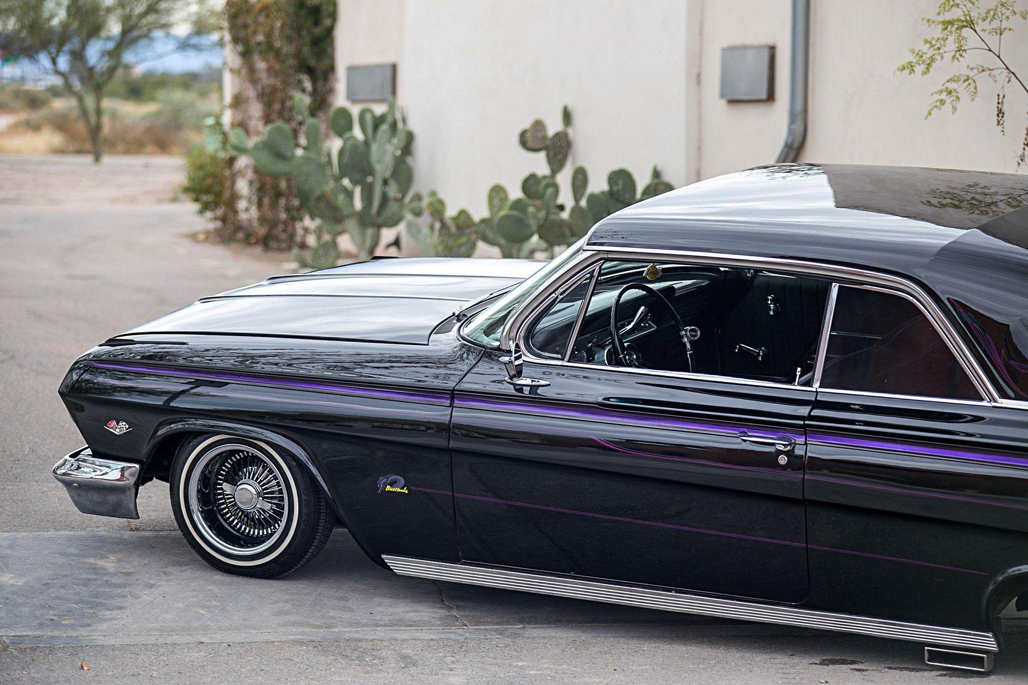 Rita Brena is a hard Laker fan After building her 62 Impala it