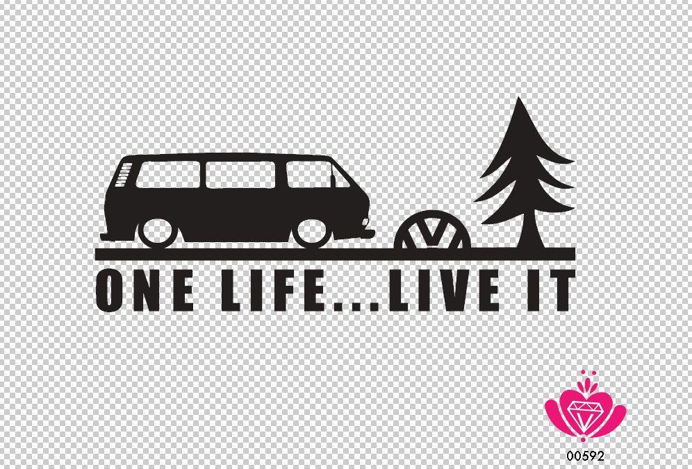 VW T6 Volkswagen Transporter Camping-car V-Dub Minions Vinyle Voiture Décalque Autocollant