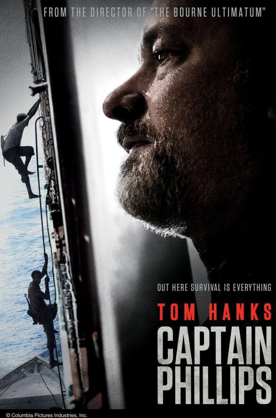 """Captain Phillips   Eine Kritik zum Kino-Film   Filmrezension   """"Nähe zu den Figuren kann nicht allein nur mit Close-Ups auf großartige Schauspieler gelöst werden. Da muss auch mehr inhaltliche Nähe rein."""" #film #rezension #magazin #kultur #captainphillips #tomhanks"""