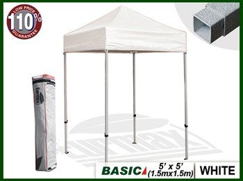 purchase cheap 24af2 d505b Eurmax Basic 5x5 Pop up Canopy, Instant Party Tent, Outdoor ...