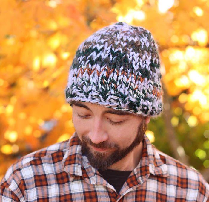 39d691f0d7d11 Mens Triple Knit Hat aka the Warmest Hat Ever!!! (Gina Michele)