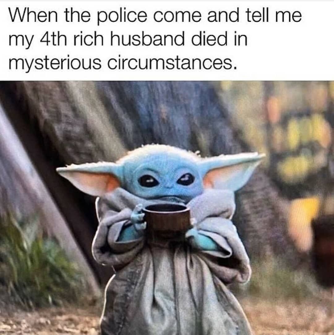 Baby Yoda On Instagram Check Out The Link In Bio And Get Yours Baby Yoda Plushie Follow Only Babyyoda Tag Someo Baby Memes Yoda Funny Yoda Meme